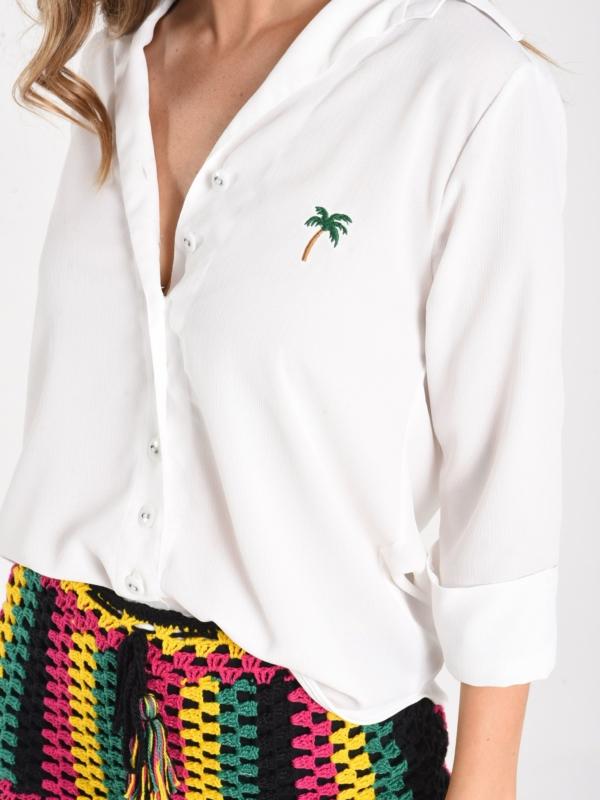 Camisa bordada summer breeze