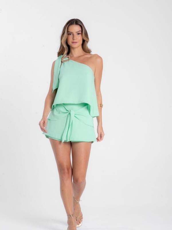 Conjunto verde mint