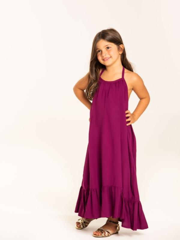 vestido me gusta infantil uva