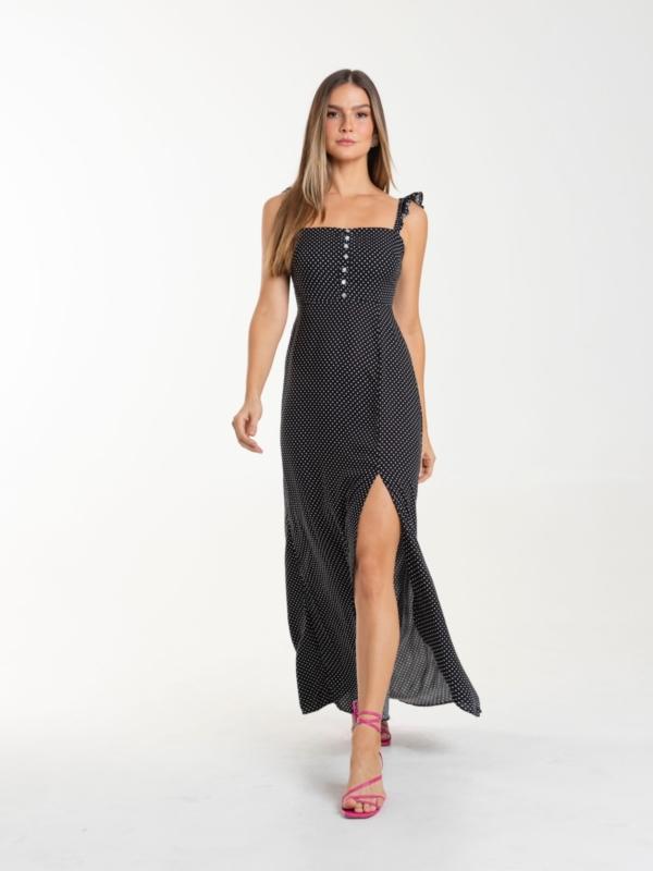 Vestido Georgia poá
