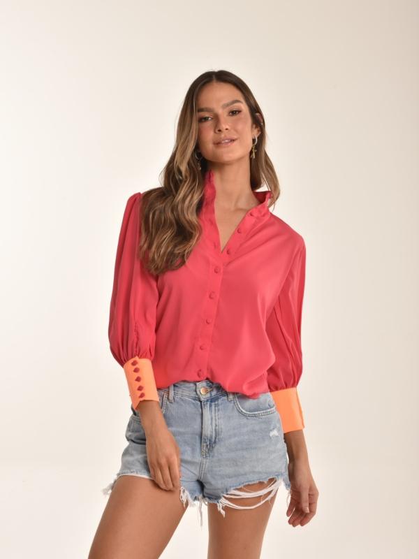 camisa pink Antônia